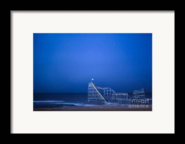 Starjet Framed Print featuring the photograph Roller Coaster Stars by Michael Ver Sprill