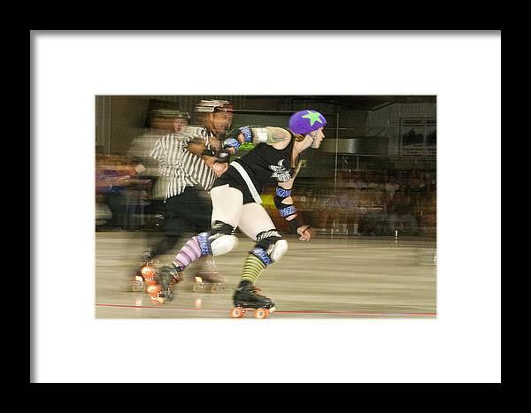 Gallatin Roller Girlz Framed Print featuring the photograph Roller Girlz 1 by Jason Standiford