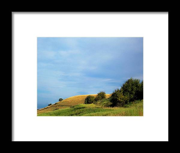 Landscape Framed Print featuring the photograph Rolling Hills Montana by Mary Davies