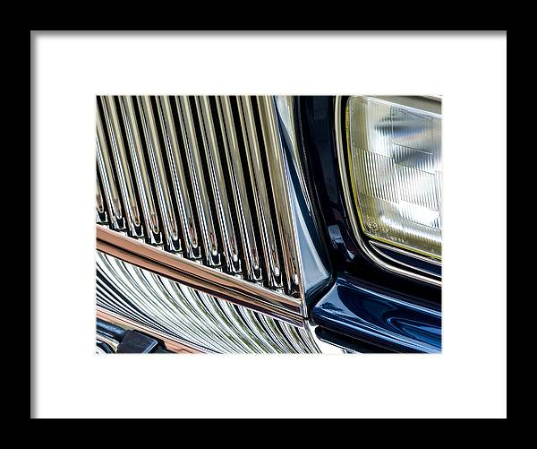 Rolls Royce Framed Print featuring the photograph Rolls Royce Headlight And Grille by Robert Grant