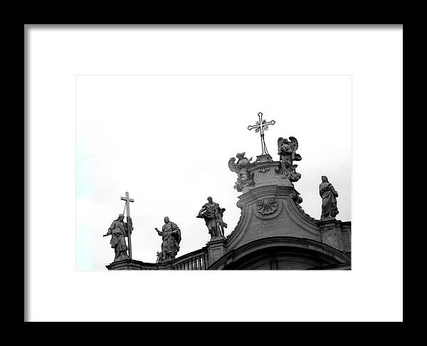 Rome Framed Print featuring the photograph Roma Five by Marcello Cicchini
