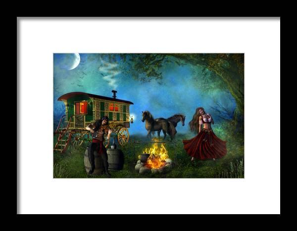 Romani Gypsy Framed Print