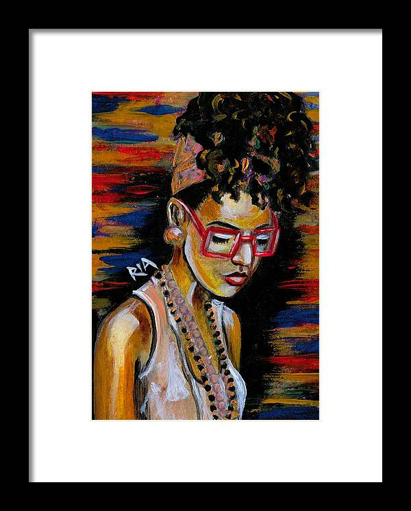 Beautiful Framed Print featuring the photograph Romy by Artist RiA