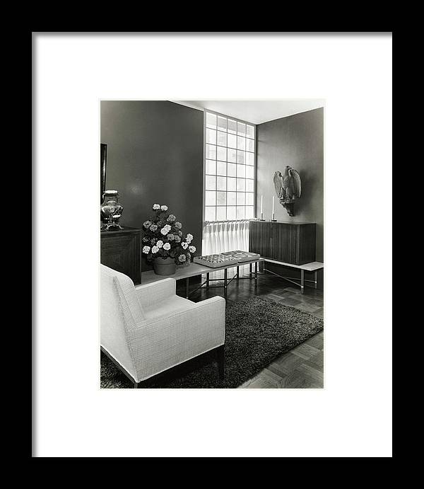 Interior Design Framed Print featuring the photograph Room Designed By John And Earline Brice by Tom Leonard