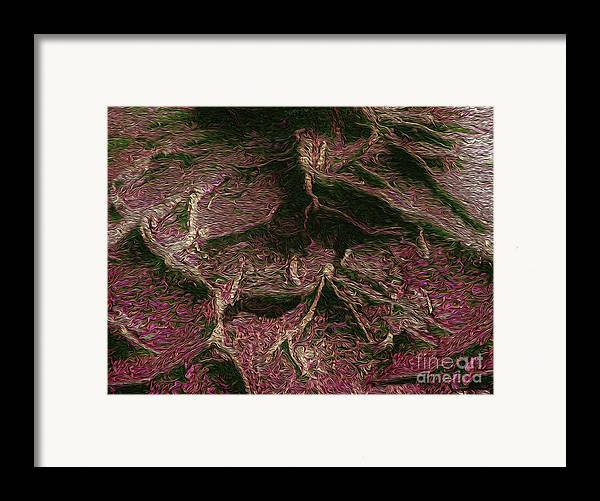 Tree Framed Print featuring the photograph Roots Of Fantasy by R McLellan