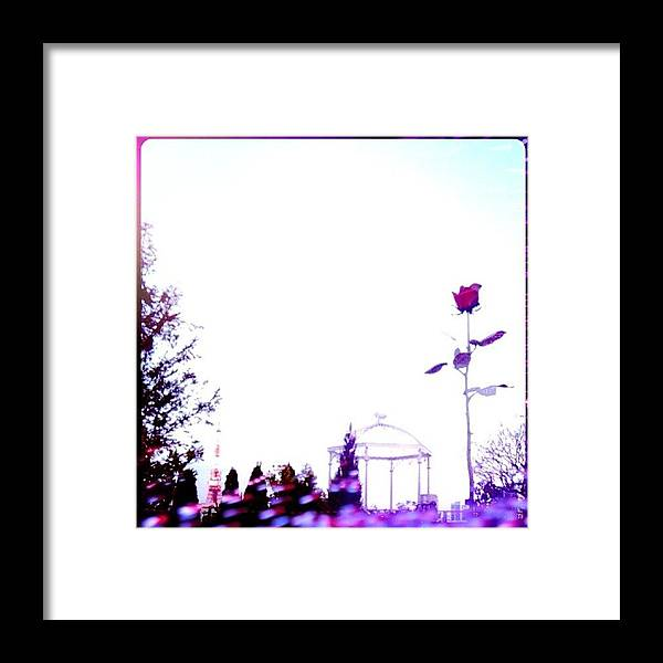 Roppongi Framed Print featuring the photograph #roppongi#landscape by Tokyo Sanpopo