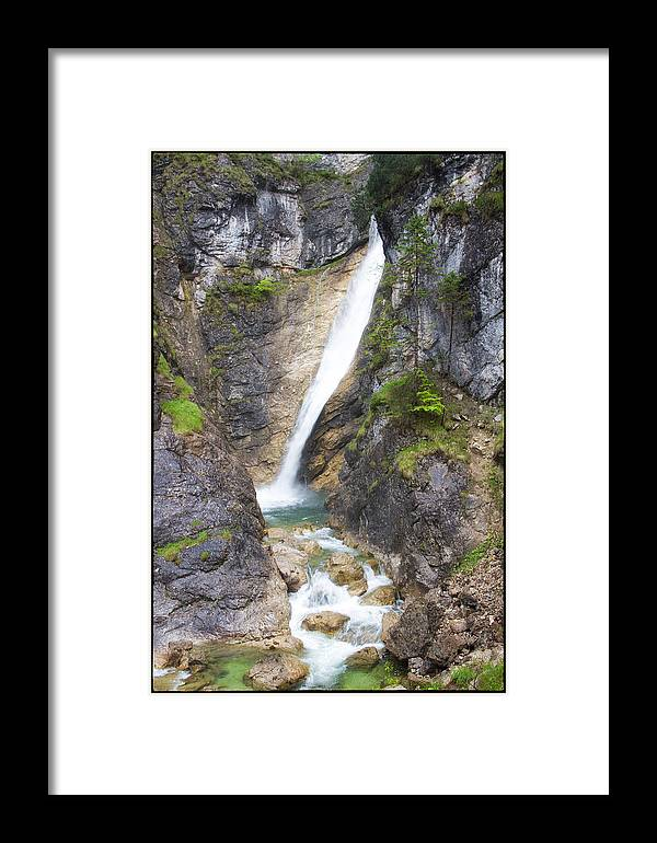 Waterfall Framed Print featuring the photograph Royal Falls by Jason Wolters