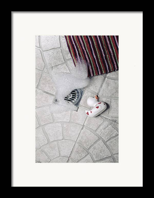 Cubicle Framed Print featuring the photograph Rubber Duck by Joana Kruse