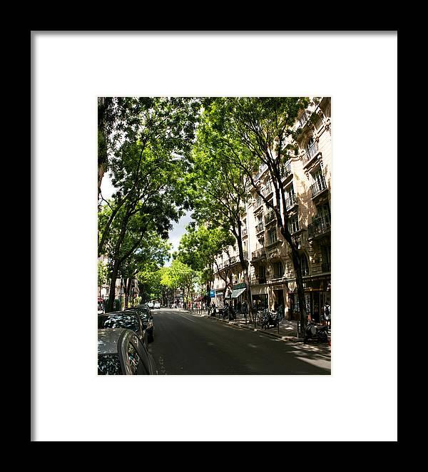 Montmartre Framed Print featuring the photograph Rue Caulaincourt Montmartre by Vladimir Fomin
