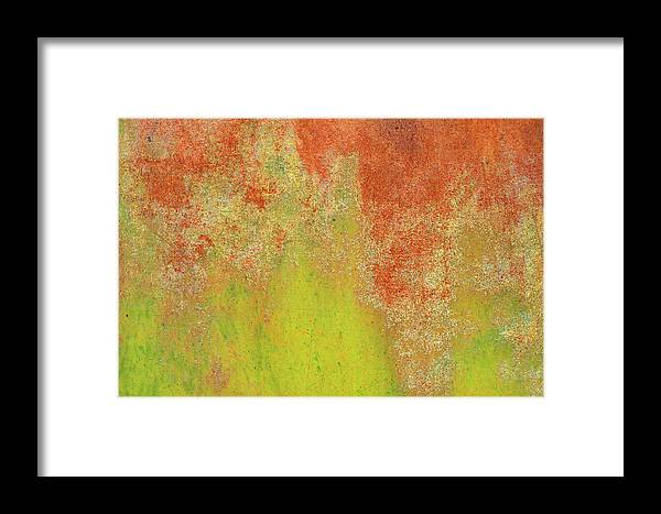 Orange Color Framed Print featuring the photograph Rust by Rob Atkins