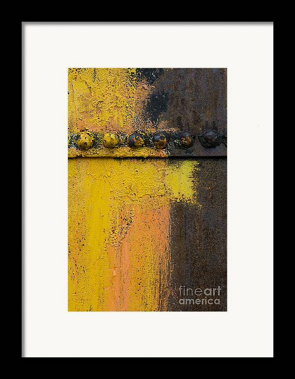 Rust Framed Print featuring the photograph Rusting Machinery by John Shaw