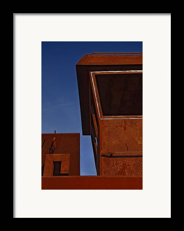 Boat Framed Print featuring the photograph Rusty Boat by Murray Bloom