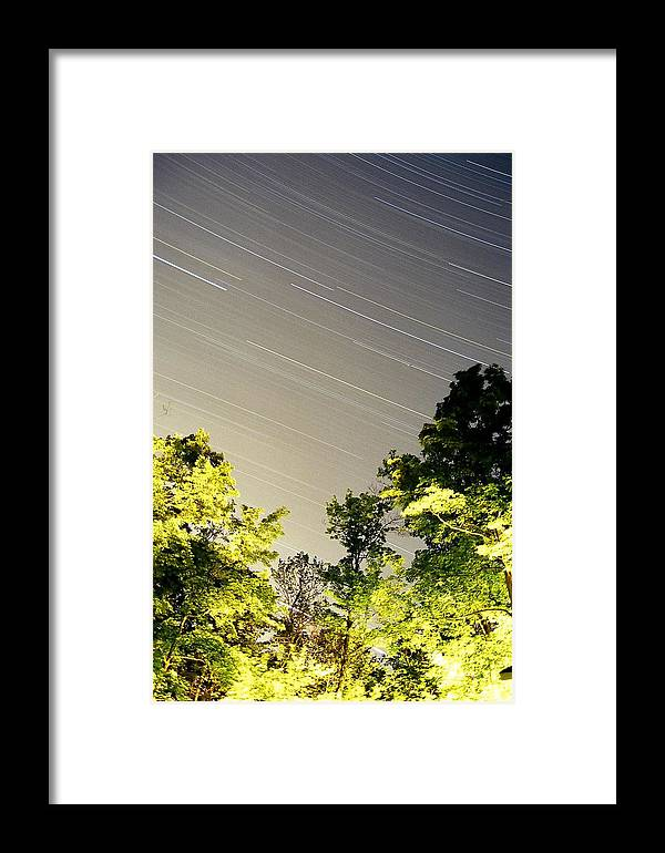 Framed Print featuring the photograph Ryans Trail by Matthew Barton
