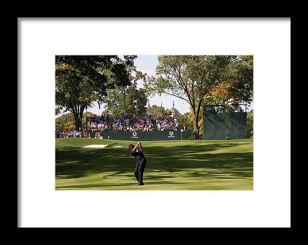 Europe Framed Print featuring the photograph Ryder Cup - Preview Day 2 by Andy Lyons