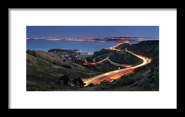 Scenics Framed Print featuring the photograph S Marks The Spot by Vicki Mar Photography
