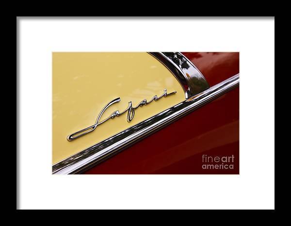 1956 Pontiac Safari Framed Print featuring the photograph Safari by Dennis Hedberg