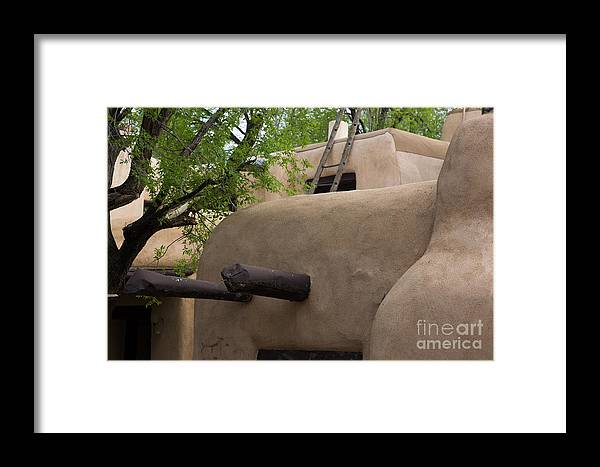 Adobe Architecture Framed Print featuring the photograph Sagebrush Inn Taos Nm by Dan Hartford