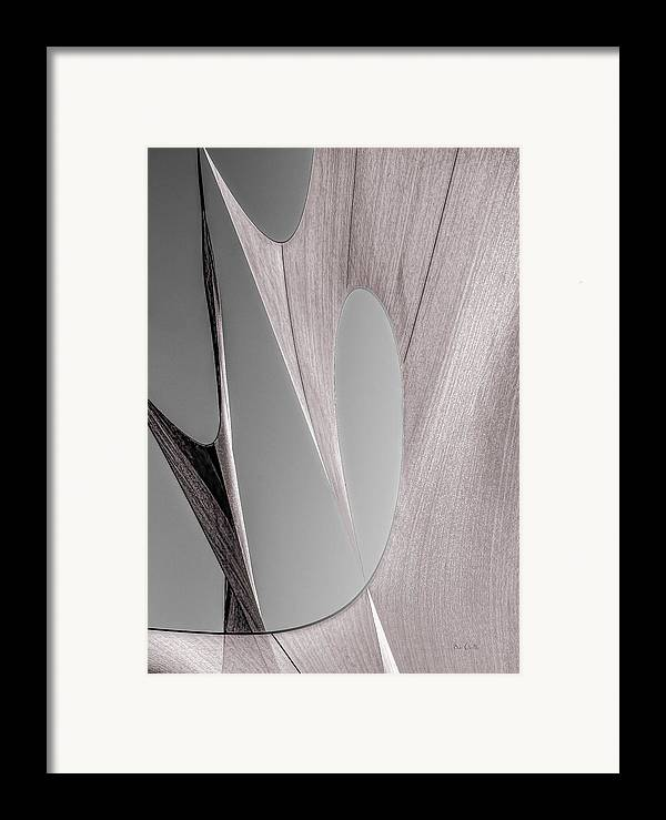 Abstract Framed Print featuring the photograph Sailcloth Abstract Number 2 by Bob Orsillo
