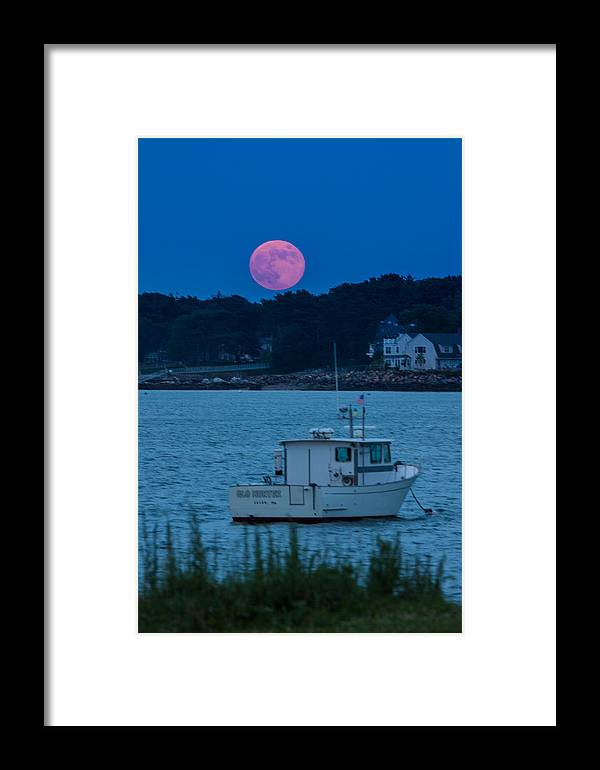Salem Framed Print featuring the photograph Sailors Delight by Jeff Folger