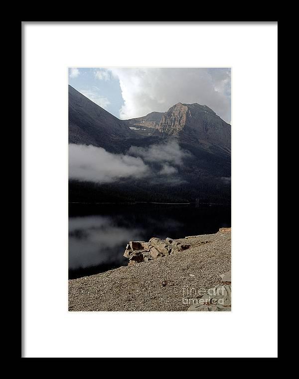 Glacier Framed Print featuring the photograph Saint Mary Lake East Glacier by Sharon Elliott