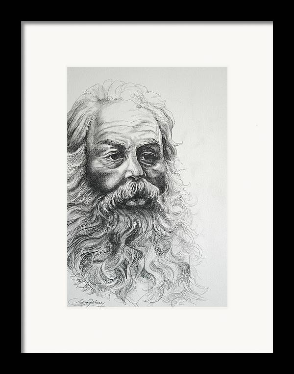 Christmas Framed Print featuring the drawing Saint Nicholas Of Compassion by Craig Gallaway