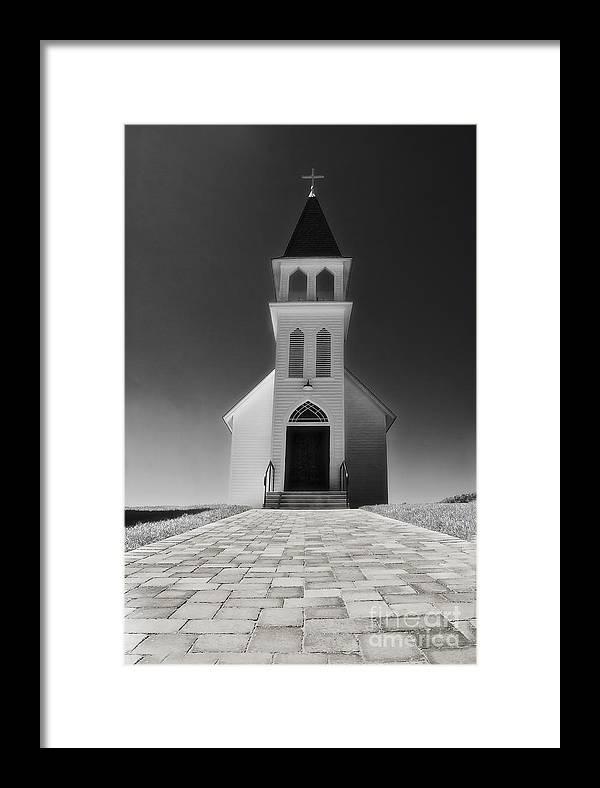 Church Framed Print featuring the photograph Saint Peter Church by Joseph Hollingsworth