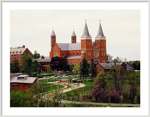 Saint Vincent College by Georgia Fowler
