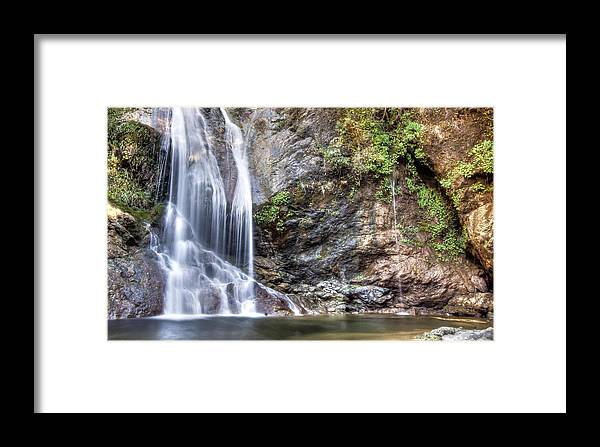 Framed Print featuring the photograph Salmon Creek Falls by Lee Bertrand