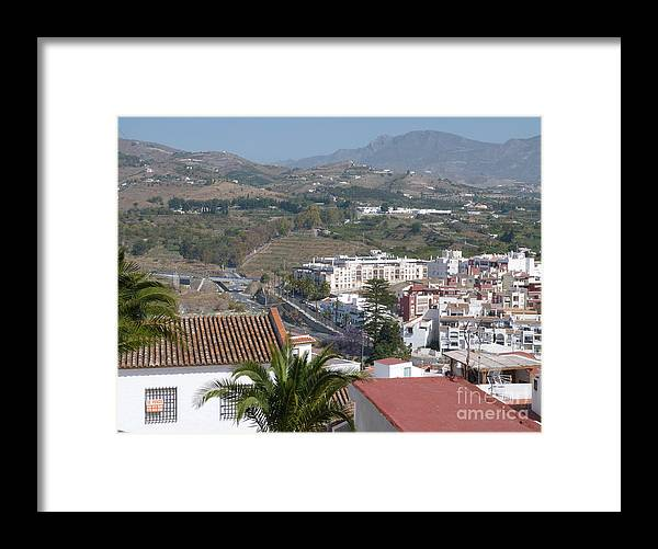 Salobrena Framed Print featuring the photograph Salobrena Town View by Phil Banks