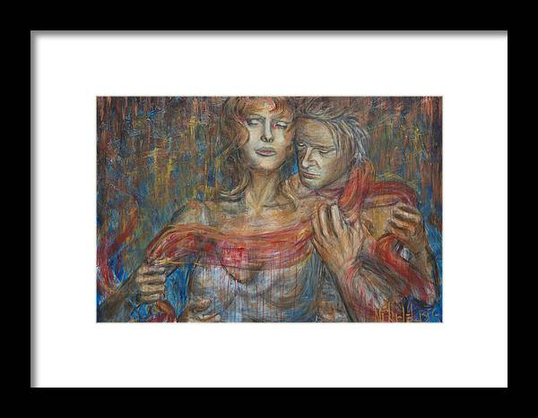 Salome Framed Print featuring the painting Salome by Nik Helbig