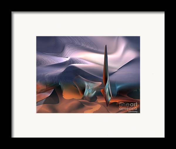 Inspiration Framed Print featuring the painting Salvator Dali Atmosphere by Christian Simonian