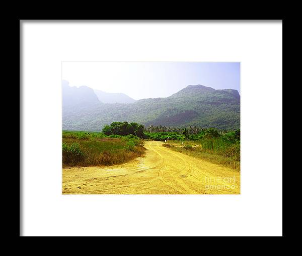 Landscape Framed Print featuring the photograph Sam Roi Yod At Dawn 03 by Pusita Gibbs