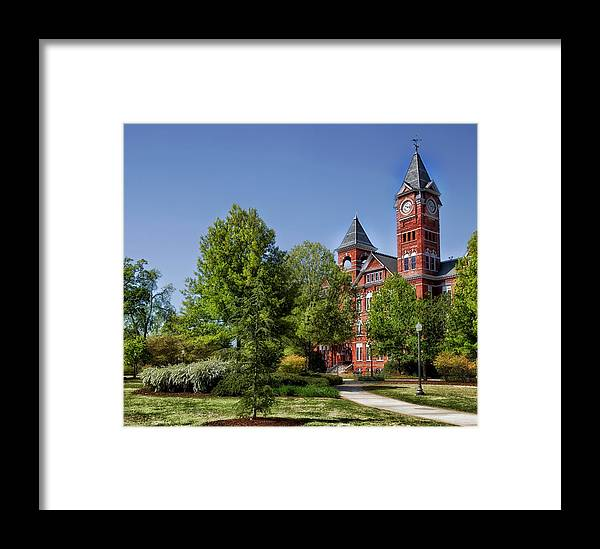 Auburn University Framed Print featuring the photograph Samford Hall - Auburn University by Mountain Dreams