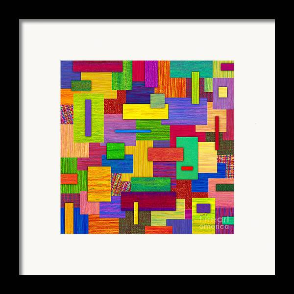 Colored Pencil Framed Print featuring the painting Sampler by David K Small
