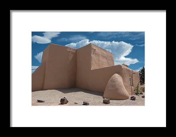 Adobe Framed Print featuring the photograph San Francisco De Asis Mission Church by Darla Hallmark