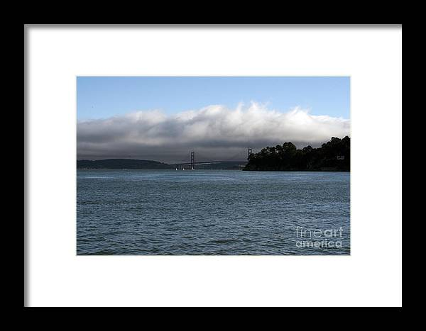 San Francisco Framed Print featuring the photograph San Francisco Golden Gate by Haleh Mahbod