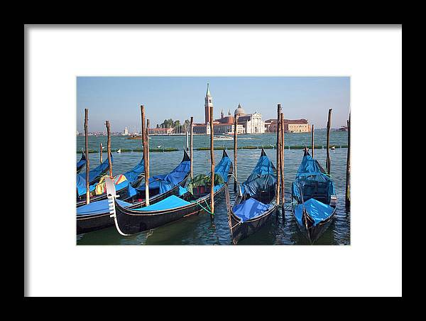Architecture Framed Print featuring the photograph San Giorgio Maggiore Church And Bell by William Perry