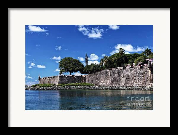San Juan Wall Framed Print featuring the photograph San Juan Wall by John Rizzuto