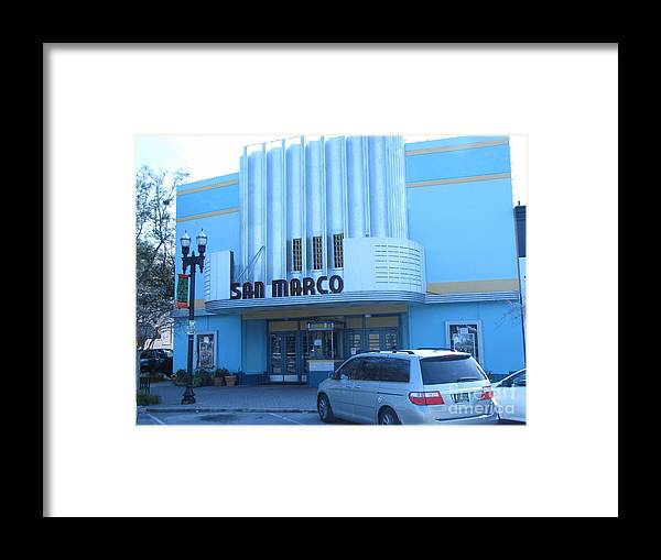 Movie House Framed Print featuring the photograph San Marco 6 by William Bryant