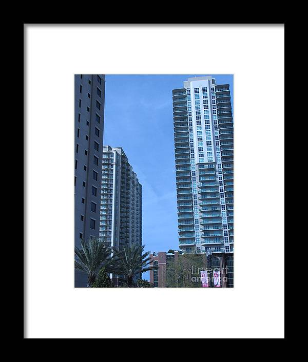 Highrises Framed Print featuring the photograph San Marco 8 by William Bryant