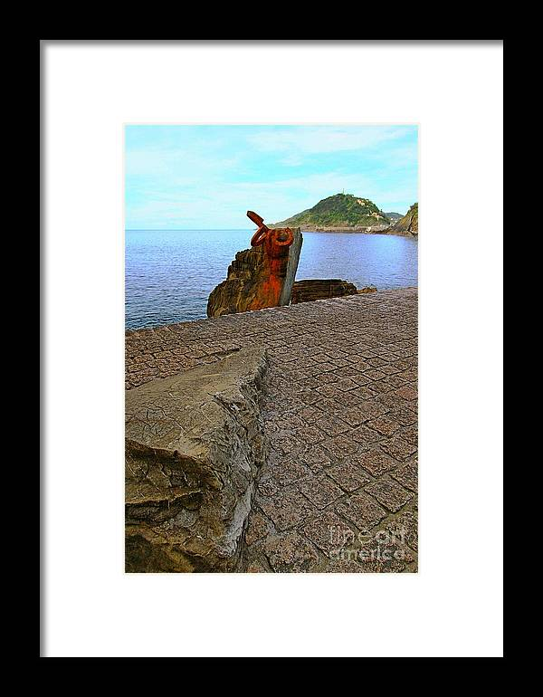 Donostia Framed Print featuring the photograph San Sebastian 22 by Mariusz Czajkowski