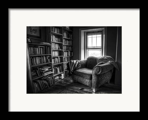 Library Framed Print featuring the photograph Sanctuary by Scott Norris