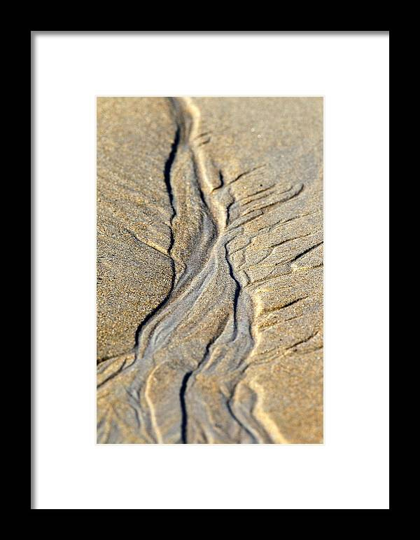 Sand Art Framed Print featuring the photograph Sand Art by Henry Gray