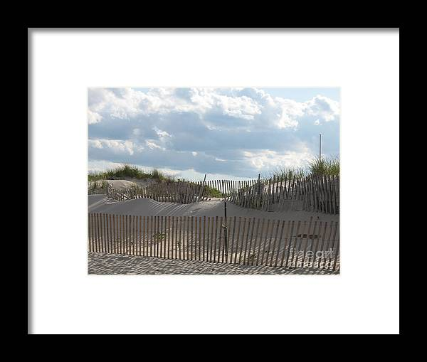 Sand Framed Print featuring the photograph Sand Dune by Christiane Schulze Art And Photography