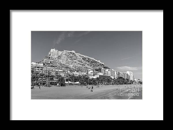 Castle Framed Print featuring the photograph Santa Barbara by Eugenio Moya