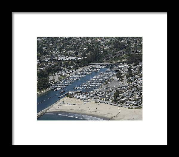 Harbor Framed Print featuring the photograph Santa Cruz Harbor by Neal Martin