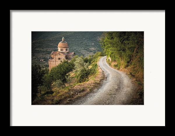 Fine Art Framed Print featuring the photograph Santa Maria Nuova by Clint Brewer