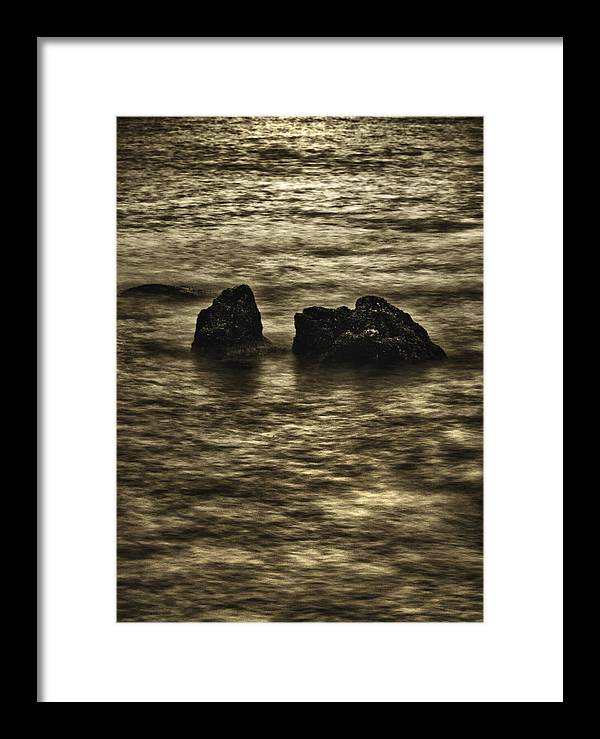 Quadros Framed Print featuring the photograph Santos-sp-brasil by Milton Galvani