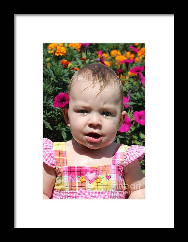 Sarah Framed Print featuring the photograph Sarah_3927 by Joseph Marquis