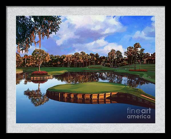 Sawgrass 17th Hole by Tim Gilliland